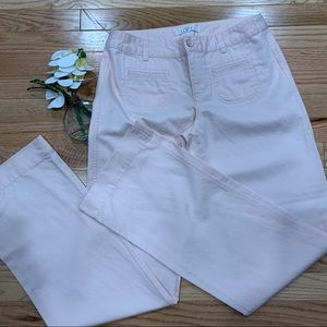 LOFT Trousers in pale pink